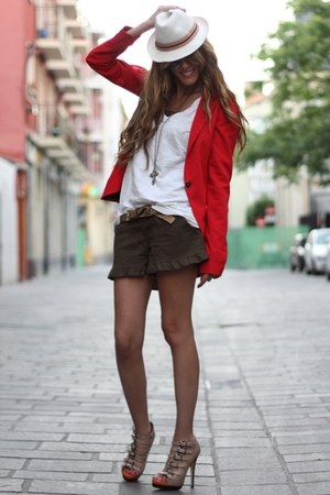 Aldo shoes - Bershka blazer - from japan shorts