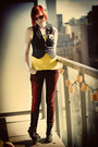 Brick-red-asos-jeans-yellow-h-m-shirt-navy-h-m-vest