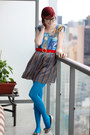 Blue-vintage-fabric-rustycuts-dress