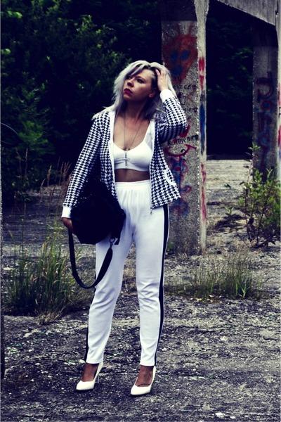 off white SH pants - black NN blouse