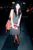 unbranded dress - H&M hat - Aldo bag