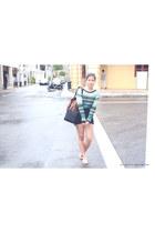 Aldo bag - Topshop shorts - H&M top