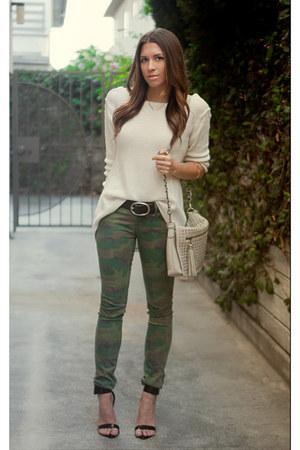 Zara sweater - Urban Outfitters jeans - DSW bag - Target belt - Zara heels