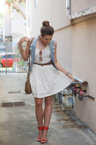 Target belt - Dolce Vita dress - Anthropologie bag - Urban Outfitters sunglasses