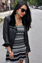 June Leather Jacket jacket - missoni for target dress