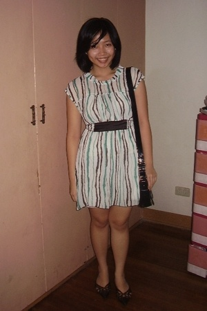 bazaar find dress - Mango - Bayo shoes