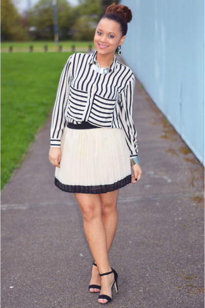 OASAP shirt - Primark skirt