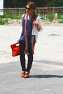 Tawny-sergio-zelcer-shoes-magenta-missoni-scarf-carrot-orange-nine-west-purs