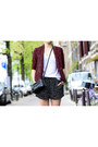 Black-zipper-rebecca-minkoff-bag-brick-red-snake-print-new-look-blazer
