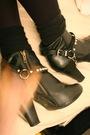 Beige-topshop-coat-red-my-grandmas-shirt-black-h-m-boots