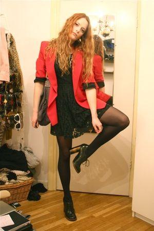 red moschino cheap & chic blazer - green Dolce & Gabbana shoes