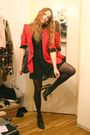 Red-moschino-cheap-chic-blazer-black-love-label-dress-gray-stella-mccartne