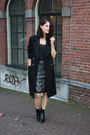 Black-ankle-zara-boots-black-river-island-coat