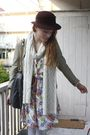 White-h-m-scarf-white-vintage-dress-white-welovecolorscom-tights-beige-sec