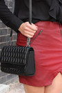 Black-ankle-blonde-blonde-boots-black-quilted-theyskens-theory-bag