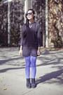 Electric-blue-far-easy-tights-mens-fila-boots-h-m-dress