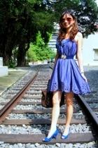 BCBGgirls dress - Nine West shoes