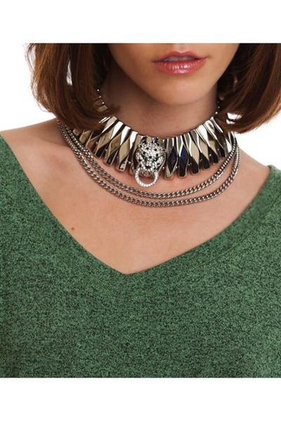 choker necklace Required Flare necklace