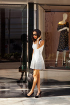 gig dress - Givenchy bag - Celine sunglasses - Christian Louboutin pumps
