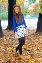 blouse - boots - skirt