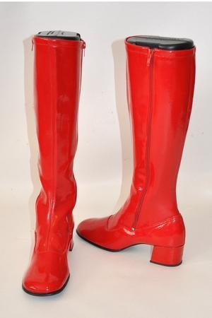 red Fascinators boots
