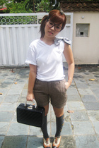 Topshop shirt - shorts - kate spade purse - shoes -