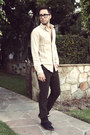 Black-royal-elastics-shoes-ivory-club-monaco-shirt