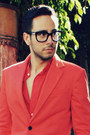 Red-zara-blazer-red-zara-shirt-red-h-m-shorts-red-zara-belt