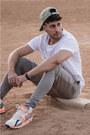 Silver-rvca-hat-white-mesh-topman-shirt-silver-leggings-topman-shorts