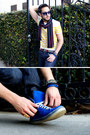 Tan-scrabble-ring-micha-design-ring-navy-levis-jeans-navy-target-scarf