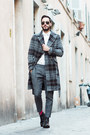 Black-stacy-adams-boots-gray-zara-coat-white-topman-shirt