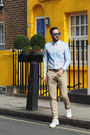 Sky-blue-lacoste-shirt-blue-toms-sunglasses-white-lacoste-sneakers
