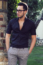 Black-hugh-crye-shirt-silver-paterned-topman-pants-black-tom-ford-glasses