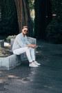 White-dr-denim-jeans-silver-lacoste-shirt-tan-wyeth-eyewear-sunglasses