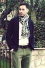 White-emile-lafaurie-for-sean-shirt-emile-lafaurie-for-sean-scarf