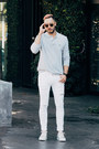 White-dr-denim-jeans-silver-lacoste-shirt-tan-wyeth-eyewear-sunglasses