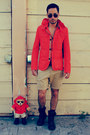 Kenneth-cole-boots-zara-jacket-h-m-shorts-aviators-ray-ban-sunglasses