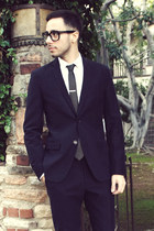 navy Emile Lafaurie for Sean suit - white Emile Lafaurie for Sean shirt