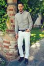Black-royal-elastics-shoes-silver-american-apparel-sweater