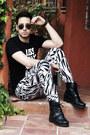 Black-ralph-lauren-boots-black-zara-shirt-black-ray-ban-sunglasses