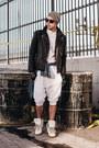 Black-leather-h-m-jacket-white-oxford-topman-shirt-navy-denim-topman-shirt
