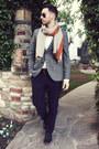 Heather-gray-emile-lafaurie-for-sean-blazer