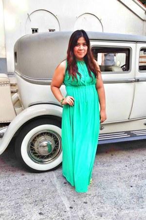 aquamarine maxi dress Freeway dress