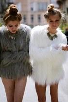 Fur jacket sisters