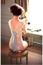 eggshell lace bodysuit