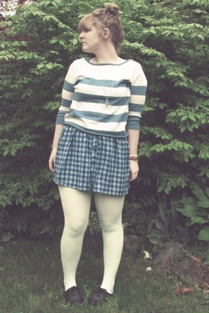 big buddha shoes - Urban Outfitters dress - Forever 21 sweater - We Love Colors