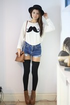 moustache Missguided jumper