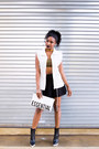Black-platform-ankle-stella-mccartney-boots-white-clutch-quinn-bag