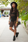 Black-mondo-creeper-tuk-shoes-black-monki-dress