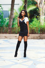 Black-over-the-knee-ted-muffy-boots-black-slip-jaest-dress